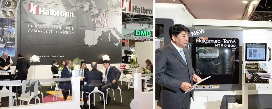 Participations Salon Industrie Lyon 2015