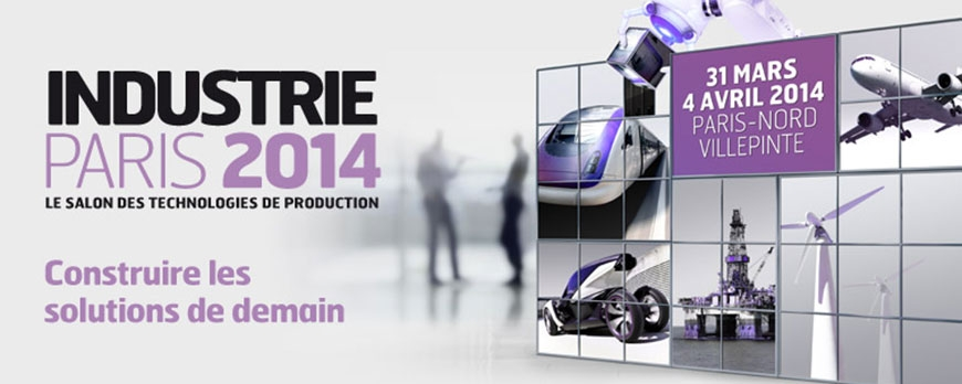 Participation Salon Industrie 2014